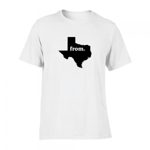 Short Sleeve Polyester T-Shirt - Texas