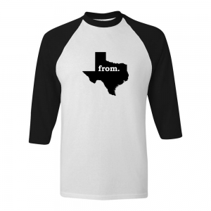 Raglan T-Shirt - Texas