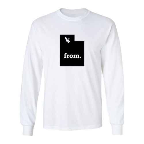 Long Sleeve Polyester T-Shirt - Utah