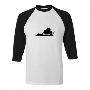 Raglan T-Shirt - Virginia