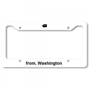 License Plate Frame - Washington