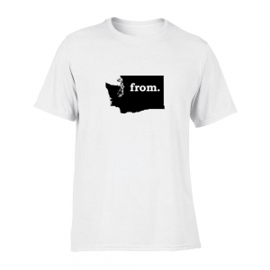Short Sleeve Polyester T-Shirt - Washington