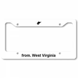 License Plate Frame - West Virginia