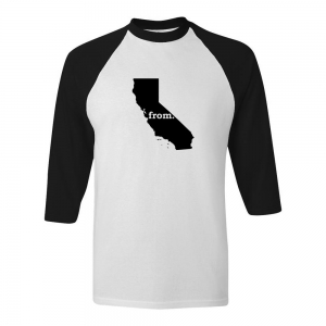 Raglan T-Shirt - California