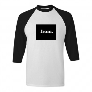 Raglan T-Shirt - Wyoming
