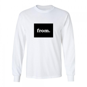 Long Sleeve Cotton T-Shirt - Colorado