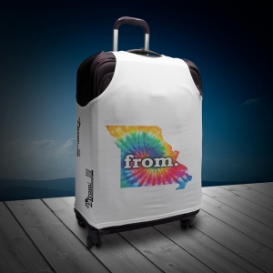 Luggage T - Missouri - Tie Dye