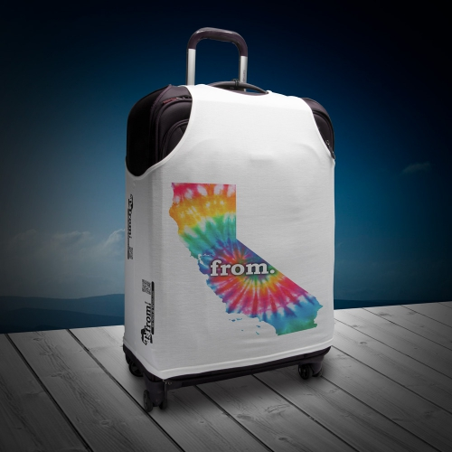 Luggage T - California - Tie Dye
