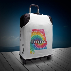 Luggage T - Alabama - Tie Dye