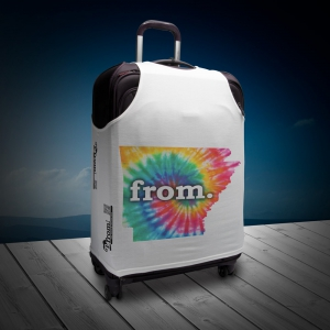 Luggage T - Arkansas - Tie Dye
