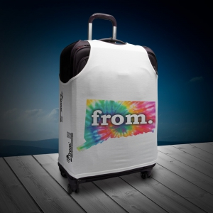 Luggage T - Connecticut - Tie Dye