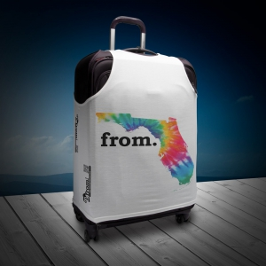 Luggage T - Florida - Tie Dye