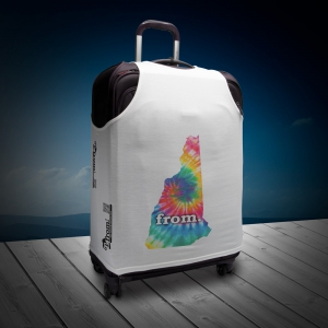 Luggage T - New Hampshire - Tie Dye