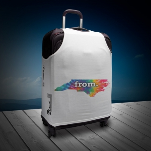 Luggage T - North Carolina - Tie Dye