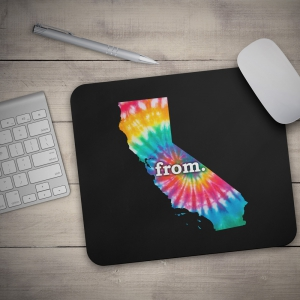 Mouse Pad - California - Tie Dye