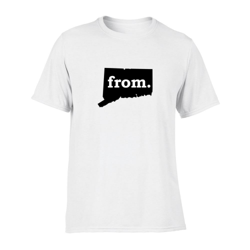 Short Sleeve Polyester T-Shirt - Connecticut