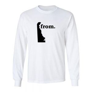 Long Sleeve Cotton T-Shirt - Delaware