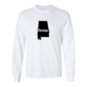 Long Sleeve Cotton T-Shirt - Alabama