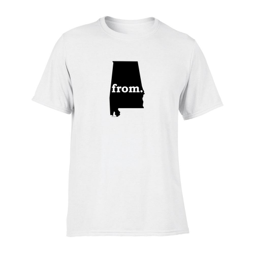 Short Sleeve Polyester T-Shirt - Alabama