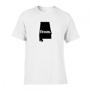 Short Sleeve Cotton T-Shirt - Alabama