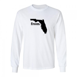 Long Sleeve Polyester T-Shirt - Florida