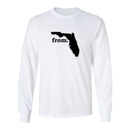 Long Sleeve Cotton T-Shirt - Florida