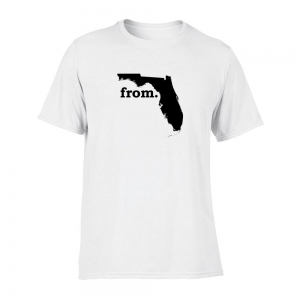 Short Sleeve Polyester T-Shirt - Florida