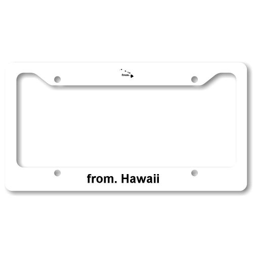 License Plate Frame - Hawaii
