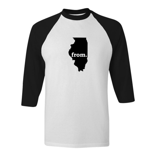 Raglan T-Shirt - Illinois