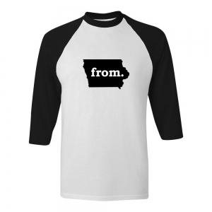 Raglan T-Shirt - Iowa