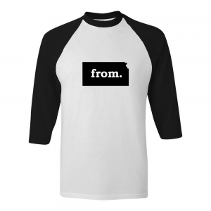 Raglan T-Shirt - Kansas