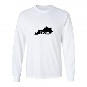 Long Sleeve Polyester T-Shirt - Kentucky