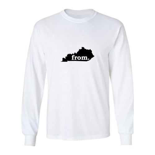 Long Sleeve Cotton T-Shirt - Kentucky