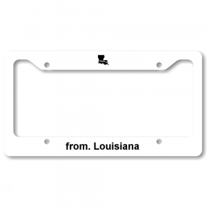 License Plate Frame - Louisiana