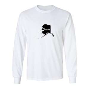 Long Sleeve Cotton T-Shirt - Alaska