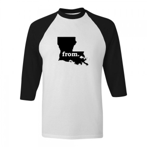 Raglan T-Shirt - Louisiana