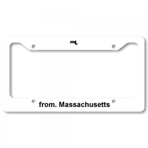 License Plate Frame - Massachusetts