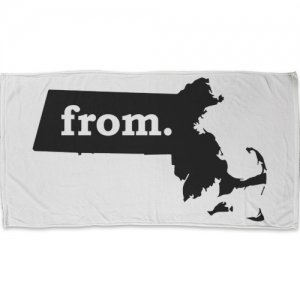Towel - Massachusetts