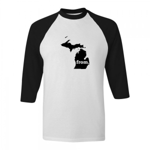Raglan T-Shirt - Michigan