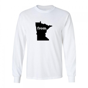 Long Sleeve Cotton T-Shirt - Minnesota