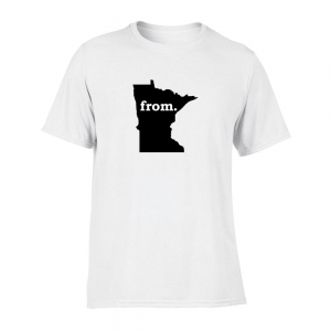 Short Sleeve Polyester T-Shirt - Minnesota