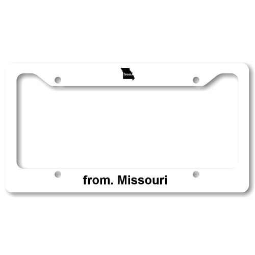 License Plate Frame - Missouri