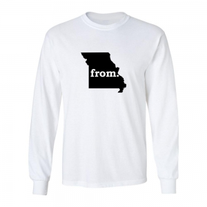 Long Sleeve Cotton T-Shirt - Missouri