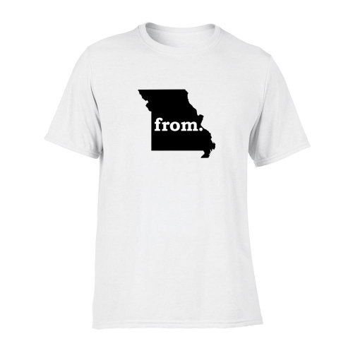 Short Sleeve Polyester T-Shirt - Missouri