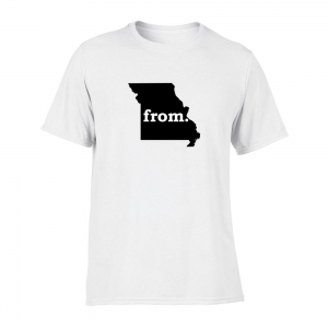 Short Sleeve Cotton T-Shirt - Missouri