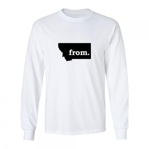 Long Sleeve Cotton T-Shirt - Montana