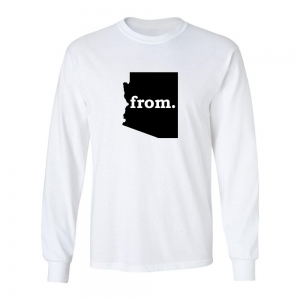 Long Sleeve Polyester T-Shirt - Arizona
