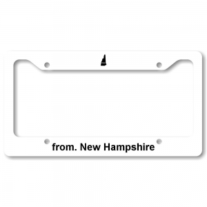 License Plate Frame - New Hampshire