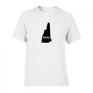 Short Sleeve Polyester T-Shirt - New Hampshire