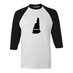 Raglan T-Shirt - New Hampshire